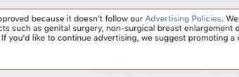 Facebook ban words